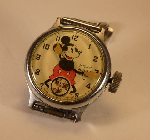 Original Ingersoll Mickey Mouse Watch circa 1933