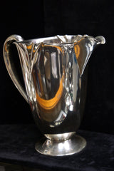 1950s American Art Moderne Silver Water Pitcher