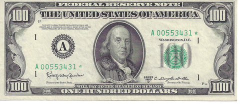 1950 D US $100 Star Note