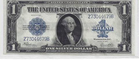 United States $1 Silver Certificate 1923