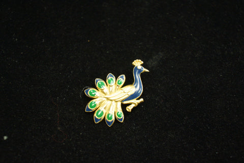 Peacock Pin SOLD