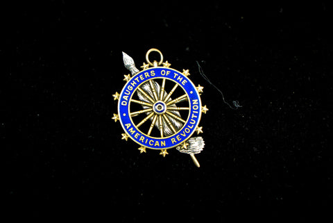 14k Gold Daughters of the American Revolution Pin