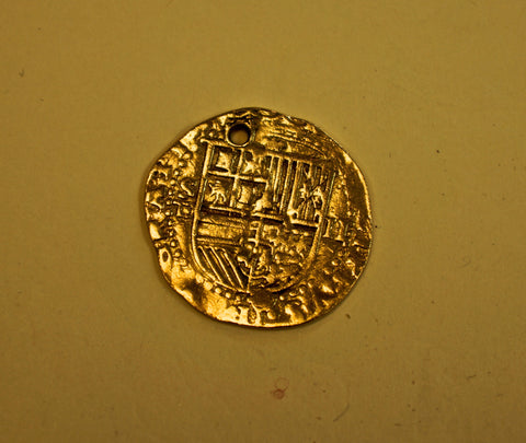 Spain King Philip II 1556-1598 Gold Coin SOLD