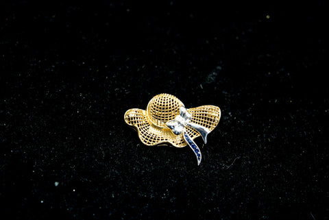 Gold Hat Pin