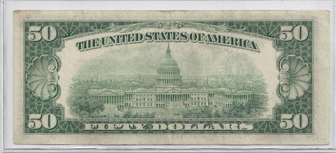 1950 D Series US $50 Star Note