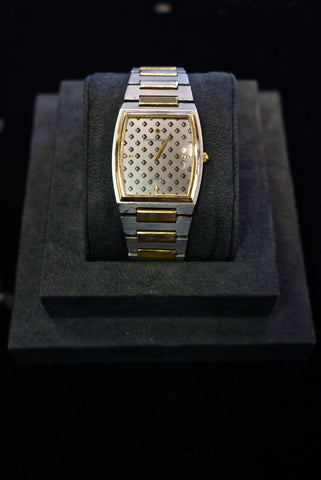 Platinum and Gold Men's Wrist Watch for Johnson Matthey