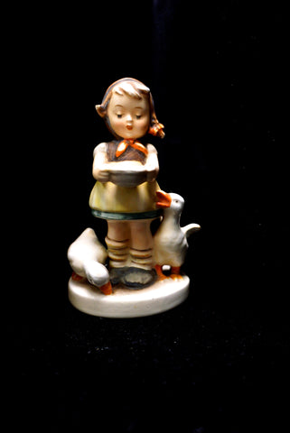 "Hummel Figurine ""Be Patient"" 197/2/0 TMK-2 4-1/4"""