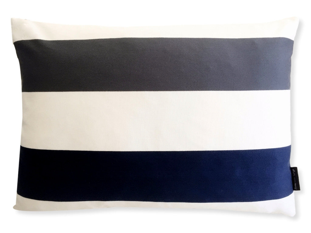 Blue Steel Oblong Cushions