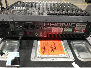 Phonic POWERPOD K12+ Analogue Mixer
