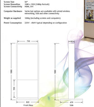 Load image into Gallery viewer, Public Information Display Screen / Signage Screen inc Monolith & Media Player