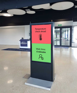 Public Information Display Screen / Signage Screen inc Monolith & Media Player