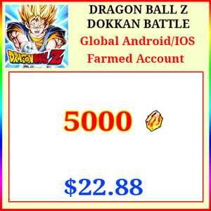 [Global][Android/IOS] Dokkan Battle Farmed Starters with 5000DS💎