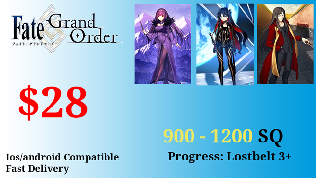 [Japan] Space Ishtar Starter Account Waver Skadi 900-1200 SQ