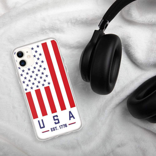 USA Flag Phone case American flag 1776 iPhone Case