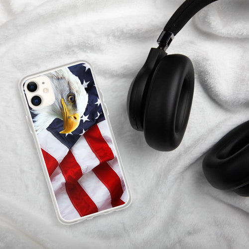 American Flag Eagle USA Flag iPhone Case