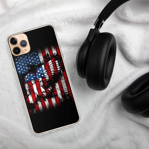 American Flag Eagle iPhone Case