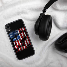 Load image into Gallery viewer, American Flag Eagle iPhone Case