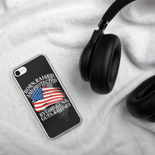 Load image into Gallery viewer, American Flag Protect Gun Phone Case for iPhones