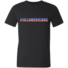 Load image into Gallery viewer, American Flag Tee #ALLAMERICANS Unisex Made in the USA Jersey T-Shirt