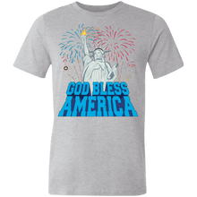 Load image into Gallery viewer, American Flag tee God Bless America Made in the USA Jersey T-Shirt