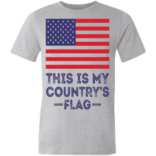 Load image into Gallery viewer, American flag tee my flag Unisex Made in the USA Jersey T-Shirt