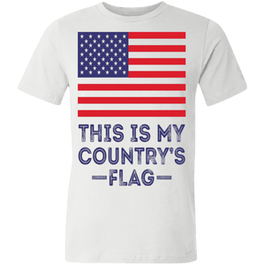 American flag tee my flag Unisex Made in the USA Jersey T-Shirt