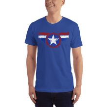 Load image into Gallery viewer, American Flag Tee Unisex Jersey Short Sleeve Tee American Shield