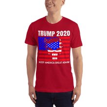 Load image into Gallery viewer, American Flag Tee Unisex Jersey Short Sleeve Tee Trump 2020