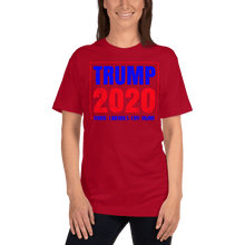 Load image into Gallery viewer, American Flag Tee Unisex Jersey Short Sleeve Tee Trump 2020 Cry