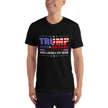 Load image into Gallery viewer, American Flag Tee Unisex Jersey Short Sleeve Tee Trump 2020 Sequel