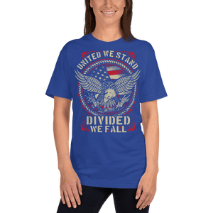 American Flag Tee Unisex Jersey Short Sleeve Tee United We Stand
