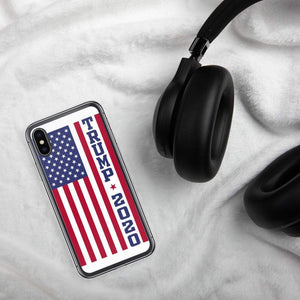 American Flag Trump Phone Case For iPhone