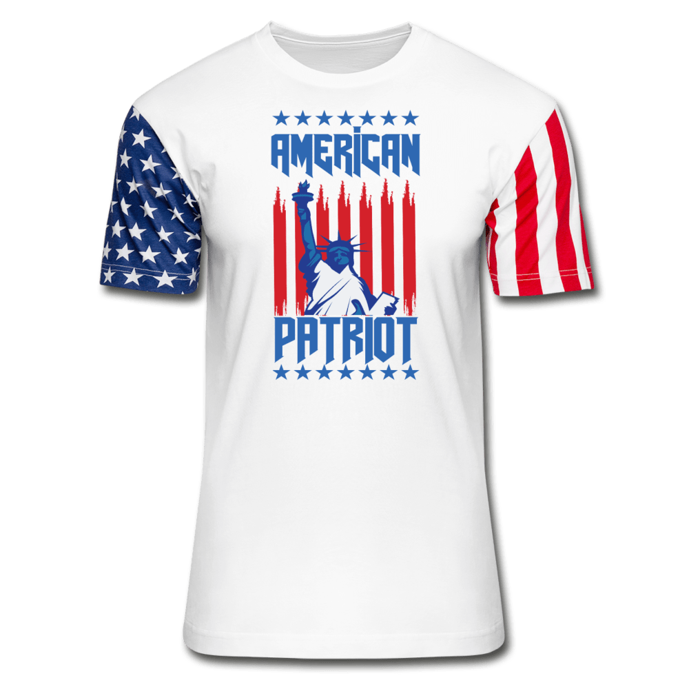 American Patriot Unisex Stars & Stripes T-Shirt