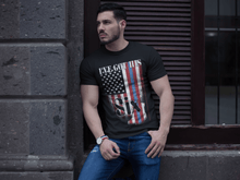 Load image into Gallery viewer, American Flag Tee Unisex Back the Blue I got your six Jersey T-Shirt