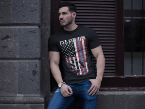 American Flag Tee Unisex Back the Blue I got your six Jersey T-Shirt