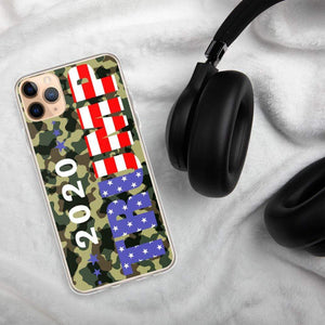 Camo 2020 Trump Phone Case for iPhone