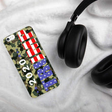 Load image into Gallery viewer, Camo 2020 Trump Phone Case for iPhone