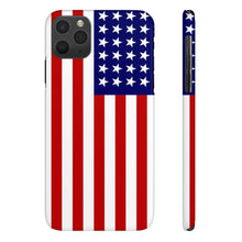 Load image into Gallery viewer, Case Mate Slim American Flag iPhone Cases