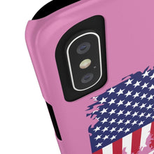 Load image into Gallery viewer, Case Mate Slim Pink Trump Phone Case For iPhone