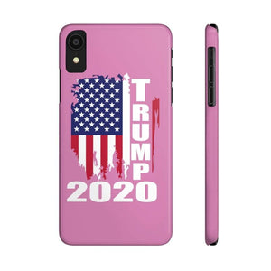 Case Mate Slim Pink Trump Phone Case For iPhone