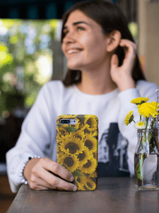 Case Mate Slim Sunflower iPhone 11 Case XR XS Plus