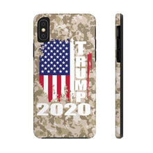 Load image into Gallery viewer, Case Mate Tough Camo Trump Phone Case for iPhone