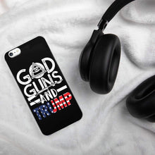 Load image into Gallery viewer, God Guns Trump iPhone Case