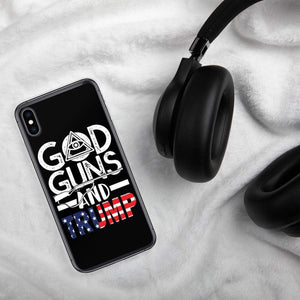 God Guns Trump iPhone Case