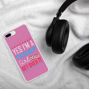 I'm a trump Girl iPhone Cases