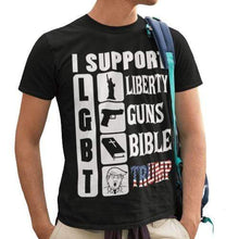 Load image into Gallery viewer, Liberty Bible Unisex Made in the USA Jersey Short-Sleeve T-Shirt
