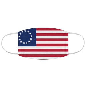 Made in the USA 1776 American Flag Fabric Face Mask