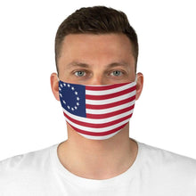 Load image into Gallery viewer, Made in the USA 1776 American Flag Fabric Face Mask
