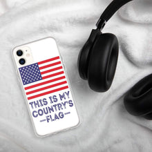 Load image into Gallery viewer, This is my country's flag American Flag iPhone Case