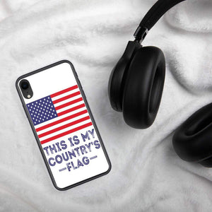 This is my country's flag American Flag iPhone Case